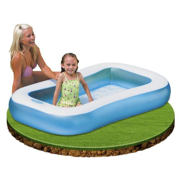 Telebrands Intex Rectangular Baby Pool 57403