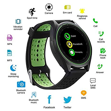 V9 Quadband Smartwatch Pakistan
