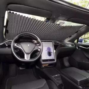 Auto Universal Car Retractable Windshield Sun Shade For Car 45cm