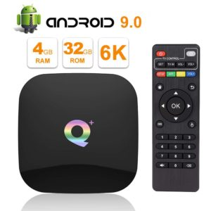 4K WiFi Smart TV Box Q+ Main Pic