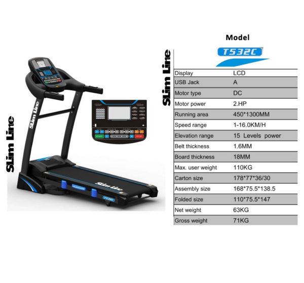 Slimline TD 532C Treadmill