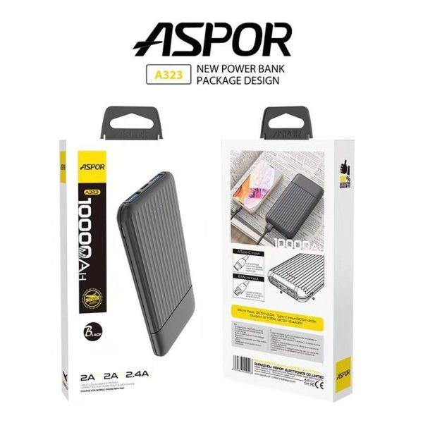 Aspor A323 Power Bank 10000mAh Telebrand