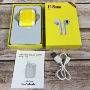 Twin I18 with Pop Up Window Wireless Earphone V5.0 Telebrands