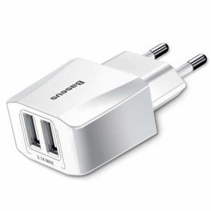 Baseus Mini Dual USB Charger Pak