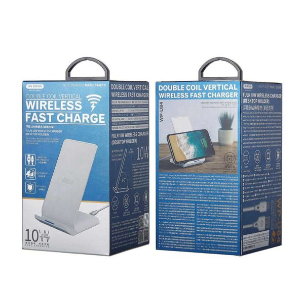 WEKOME Double Coil Vertical Wireless Charger